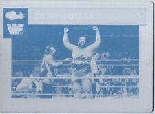 WWE Earthquake 1990 Classic Printing Plate Card WWF A