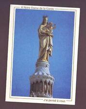 carte postale marseille / notre dame de la garde - / vierge ( a ecrire )