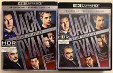 JACK RYAN 5 FILM COLLECTION 4K ULTRA HD BLU RAY 10 DISC SET + SLIPCOVER SLEEVE