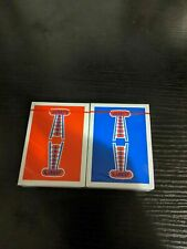 Authentic Jerrys Nugget Playing Cards 2 Deck Set Rare Limited not Bicycle Decks.