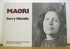 Maori by Barry Mitcalfe 1981 *Signed*