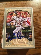 St Louis Cardinals Adron Chambers Autograph Signed Auto Card
