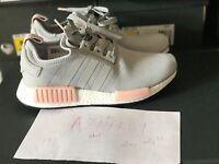 Adidas NMD R1 Runner Grey Vapour Pink Light Onix Offspring BY3058 Women Sz 7-11