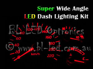 Red LED Dash Cluster Light Kit Fits Hyundai Excel & Accent X1 X2