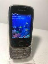 Nokia Classic 6303 - Steel (Unlocked) Mobile Phone 6303c - Crack to screen lens