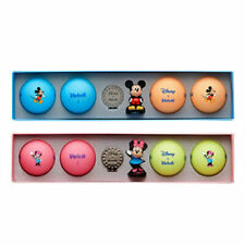 Volvik Vivid Disney Minnie Mickey Mouse Golf Balls 3D Ball Marker Fedex Shipping