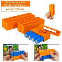 4/6/8-Section 18650 Battery Fixture Universal Spot Welder Welding Clamp For