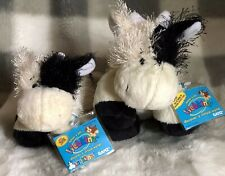 2 Webkinz Cow & Lil Kinz Cow~Both New With Sealed Codes ~ Nice Christmas Gift!