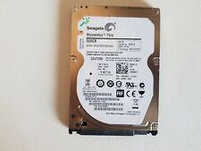 Seagate 500 Go Portable Mince Disque Dur Modèle: ST500lt012, PN: 9WS142-030