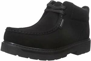 Lugz Strutt LX Boots Durabrush Black Shoes Memory Foam Insole Mens 9 US New