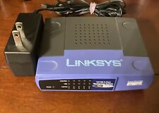Linksys 10/100 5-Port Workgroup Switch Ezxs55W Ver4.1- Internet Router