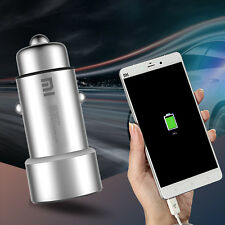 Original Xiaomi Roidmi Car Charger Dual 2 Ports USB Output Fast Charging Adapter