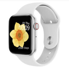 Apple Watch Series 5 Clone For Android & IOS White/Silver