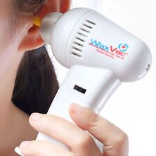 Safety Electric Ear Wax Dirt Remover Earwax Vacuum Cleaner Painless Cordless Hot