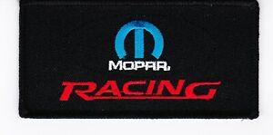 10 MOPAR RACING EMBROIDERED SEW/IRON ON PATCH DODGE CHRYSLER HEMI SRT SRT8 392