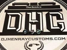 Technics SL-1200/1210 mk2/3/3D/4/mk5/6/M5G Tonearm arm assembly screws Brand New
