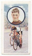 Pattreiouex Celebrities in Sport c1930 #34  J E Sibbet Cycling