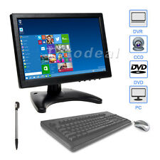 "10"" Inch HD IPS Touch Screen Display CCTV Security Monitor w/ Speaker AU STOCK"