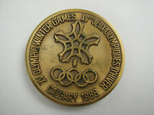 Olympic Games Olympische Spiele 1988 Participation medal Teilnehmer Medaille