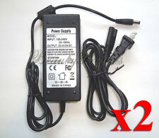 (2pcs) Adapter OPI Studio LED Light GL900 Gel Lamp Dryer 100-240V Power Supply