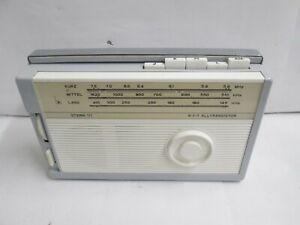 DDR RFT Kofferradio Stern 111,funktioniert!