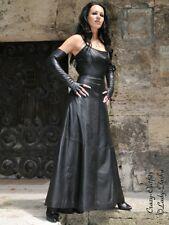 Lederkleid Leder Kleid Abendkleid Schwarz Maßanfertigung