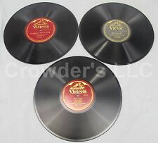 """Victrola Sovenir & Somewhere a Voice is Calling + Victor Oh Promise Me 10"""" 78rpm"""