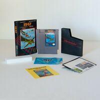 Nintendo NES Video Game - 1942 Capcom - COMPLETE with manuals, box & game CIB