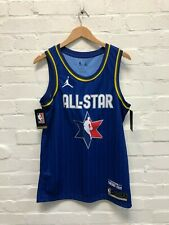 Nike Jordan Men's NBA All Star Basketball Jersey - Medium - Paul 3 - Blue - NWD