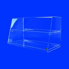 Spuckschutz Thekenaufsatz Nr. 2 Premium Hustenschutz Vitrine von Grünke® Acryl