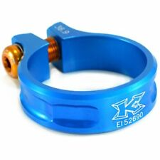 KCNC SC11  Seat Post Clamp 7075 Alloy , 36.9mm , Blue