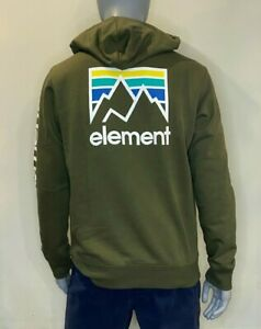 Element - Joint - Hoodie - Pullover - Mens - Army Green - skateboard Clothing