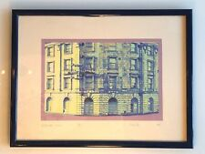 Vintage limited Edition Architecture Prints Signed Simon Poe and framed