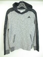 Adidas Boys Altitude Heather Pullover Hoodie Sweater Size LARGE
