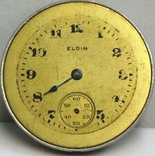 Elgin USA Unique/Rare/Collectable 7 Jewels Size 5/0 1916 Antique Watch Movement