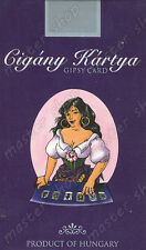 SEALED DECK of 36 GYPSY TAROT CARD on 6 LANGUAGES, Kviz, Joseph Vincent #001