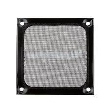 Aluminum Alloy Fan Filter Dust Guard Cover for PC Case Fan Black 80mmx80mm