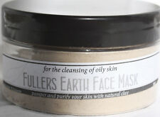 Fuller Earth Clay Face Mask Mineral Cleansing Facial Skincare Mask -Oily Skin