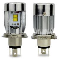 Safego 2x H4 LED AutoLicht Scheinwerferlampe Birnen 50W LED Autoscheinwerfer Kit