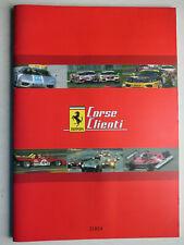 Prospekt brochure - Ferrari - Corse Clienti, Druck 2026/04, 36 Seiten, I / UK