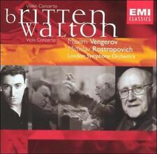 Britten & Walton: Violin & Viola Concertos; Maxim Vengerov