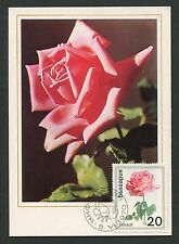BULGARIA MK 1970 FLORA ROSEN ROSE ROSES MAXIMUMKARTE CARTE MAXIMUM CARD MC d6319