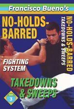 No Holds Barred #3 Vale Tudo Takedowns & Leg Sweeps Dvd Francisco Bueno mma