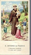 842/C S. Antonio da Padova  Santino HolyCard