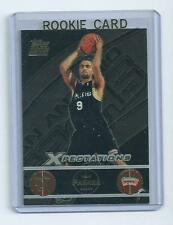 Tony Parker 2001-2002 Topps Expectations Rookie Card #127