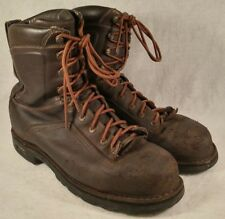 """Danner Quarry 8"""" Brown AT Leather Safety Toe Insulated Work Boots 14548 Men 11.5"""