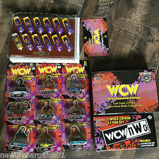 WCW Racing Champions Collector's Lot Nitro-Streetrods WCW/NWO 12 Pc Stock Car