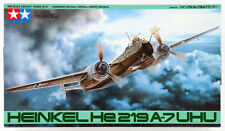 HEINKEL He-219 A-7 UHU GERMAN NIGHTFIGHTER TAMIYA 1/48 PLASTIC KIT