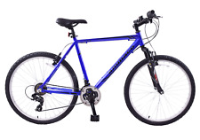 "Ammaco Creek 26"" Wheel Front Suspension Mens Bike 19"" Alloy Frame 21 Speed Blue"