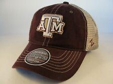 cheap for discount a8c18 24e9d Texas A M Aggies NCAA Zephyr Trucker Snapback Hat Cap